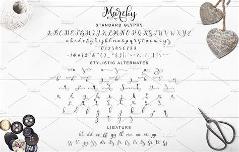 dafont decorative modern script free font marchy navy themes
