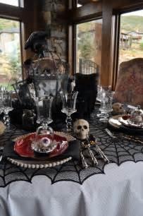 Halloween Table Decoration Ideas 30 Dramatic Halloween Table Decor Ideas Home Design And