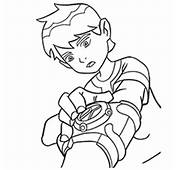 Ben 10 Omniverse Colouring Pages  Coloring Page