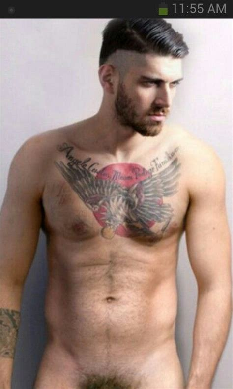 tattoo is hot to touch mmmmmmm beards scruff and body hair pinterest chest
