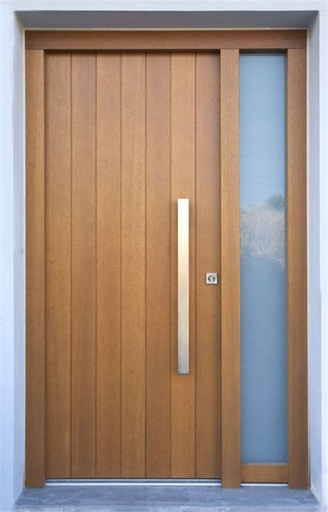Solid Exterior Doors Solid Wooden Front Door Tylissos Block95 General