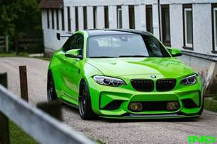 Bmw M2 Coupe Ind Delivers A Green Bmw M2 Coupe