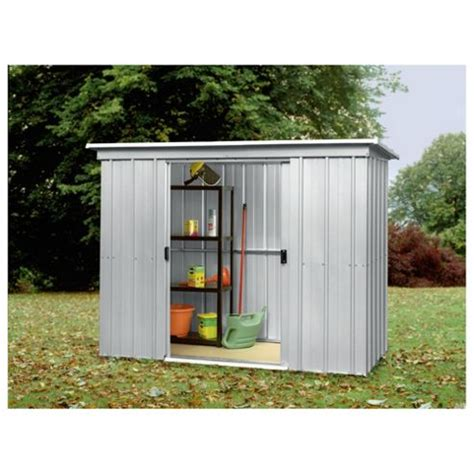 buy yardmaster metal pent shed from our metal sheds range