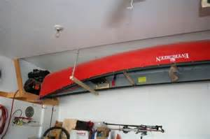 view topic canoe storage in a small garage canadian