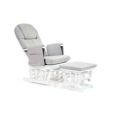 Reclining Baby Chair by Mothercare Baby Nursery Reclining Glider Chair White