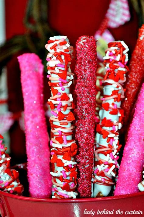 linda the curtain lady pretzels valentines and sprinkles on pinterest