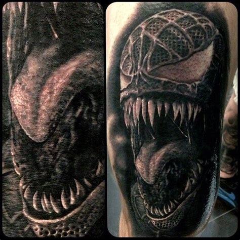 spider man 3 venom tattoo super hero villain tats