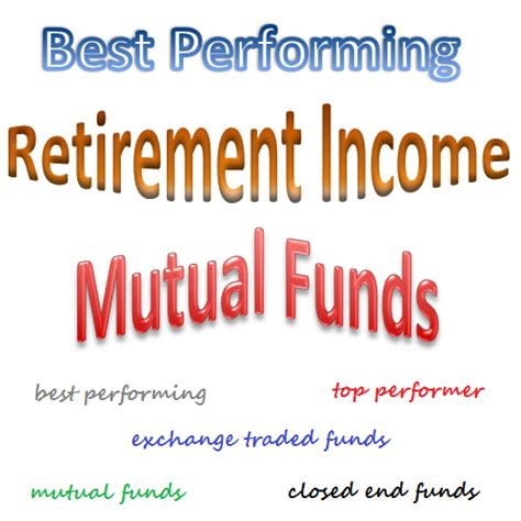 best retirement funds best performing retirement income funds october