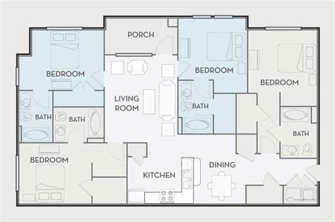 4 bedroom apartment floor plan woodlands of tuscaloosa floor plan the garden room the gardens chion