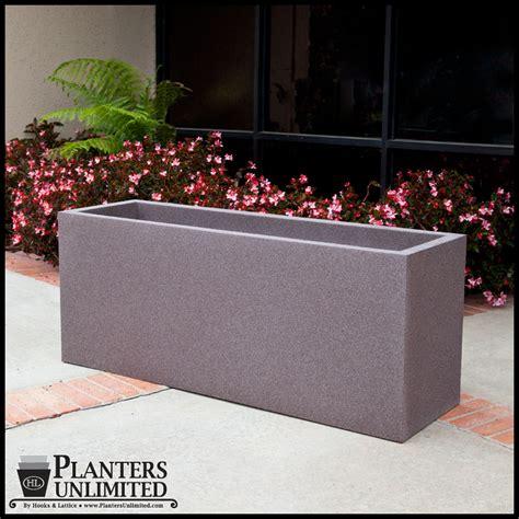 rectangular fiberglass planters fiberglass rectangular