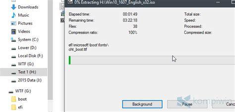membuat usb bisa booting cara membuat bootable flashdisk dari file iso untuk instal