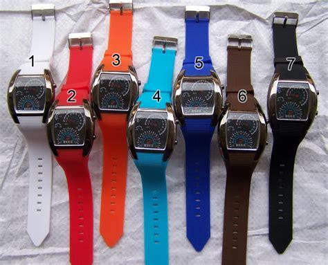 Jual Jam Tangan Led Wanita Bulova Tvg Speedometer Putih Original jam tangan led speedometer tokyoflash lapak daeng store