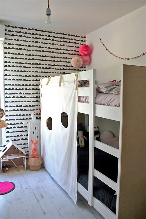 Diy Ikea Loft Bed | ikea hack diy bunk bed fort handmade charlotte