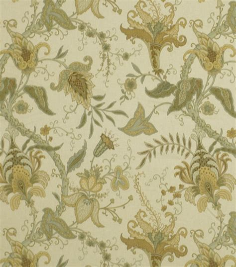home decor fabric robert allen pontoise mimosa fabric jo