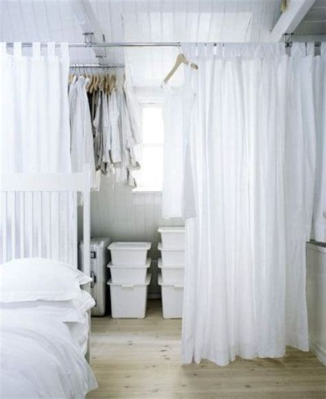 curtains for dressing room 25 ways to use curtains as space dividers digsdigs