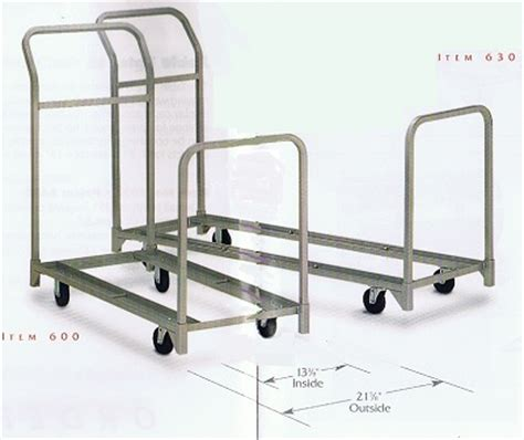 folding chair cart nsn folding and stacking chair cart combination handtrucks2go