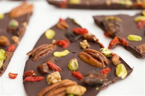 fruit 2 nuts fruit and nut chocolate bark