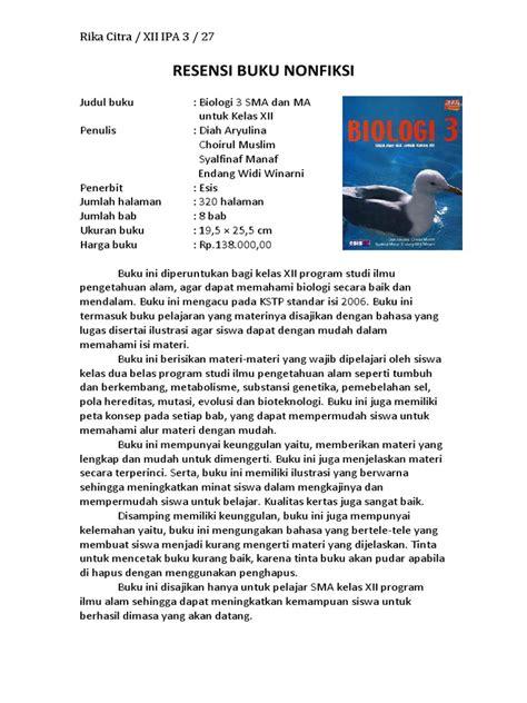 contoh membuat resume sebuah buku charmant cara membuat resensi buku pdf bilder