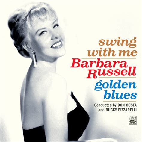 swing with me barbara russell swing with me golden blues 2 lps on 1