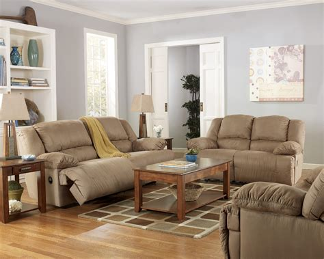 Hogan Mocha Reclining Living Room Set From Ashley 57802 Reclining Living Room Sets
