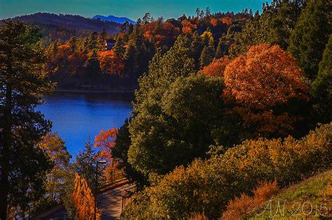 california fall color orange friday at lake gregory california fall color