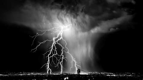 Lightning Black Lightning Black And White Wallpaper 889318