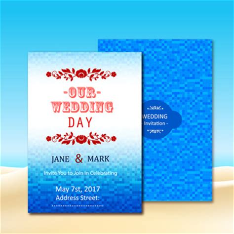 Wedding Invitation Card Background Design by Free Vector Graphic Free Photos Free Icons Free