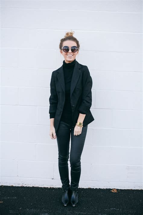 25 all black fall outfits that are anything but basic 25 all black fall outfits that are anything but basic