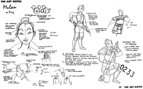 animation from concept to production books mulan as ping the notes electric pencil productions