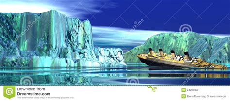 boat sinking in your dream titanic boat sinking stock photos image 24268373