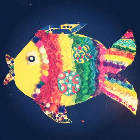 How To Make 3d Fish Out Of Paper - 17 best images about rainbow fish on fish