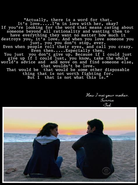 season for love robin and ted himym quotes quotesgram