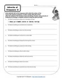 adverbs of frequency 2 free printable adverb worksheets
