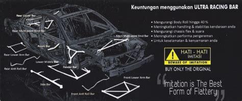 Strutbar Stabilizer Ultra Racing Bmw E30 meng uber gojek nge grab taxi strutbar new avanza