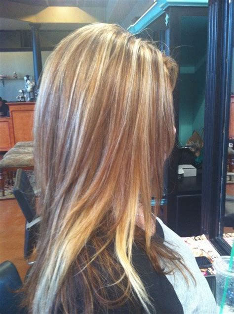 hi and low lights on layered hair highlights lowlights by nora yelp