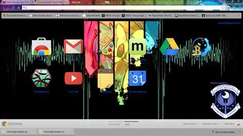 chrome themes for mobile chrome theme mlp dj pon3 by lagmobile on deviantart