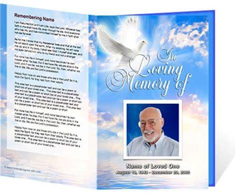 doc 520425 free funeral program template microsoft word