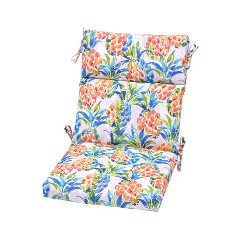 hampton bay pineapples outdoor high  dining chair