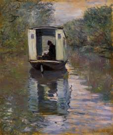 Barnes Foundation Merion File Claude Monet Le Bateau Atelier Jpg Wikimedia Commons