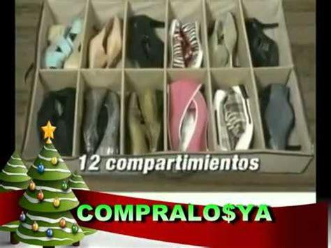 organizador de zapatos en www comprasin com youtube organizador de zapatos bajo cama youtube