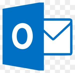 size microsoft outlook logo  transparent png