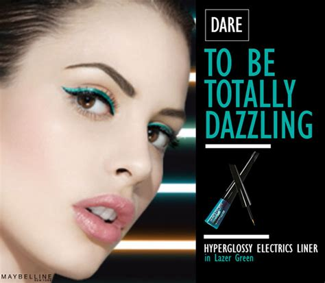 Maybelline Hyper Glossy Liquid Eyeliner feel electric tonight with maybelline s hyper glossy