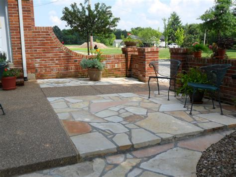 Patio Pavers Turning White Patio And Path Ideas From Gottschalk Quarry