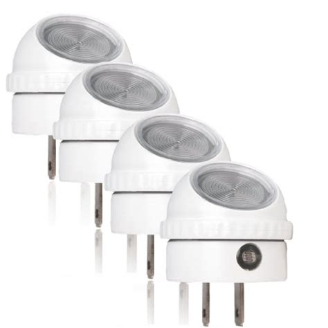 automatic dusk to light white orksun automatic dusk to white led light w
