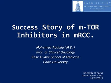 the m o s t momentum of success technique volume 1 books success story of m tor inhibitors in m rcc