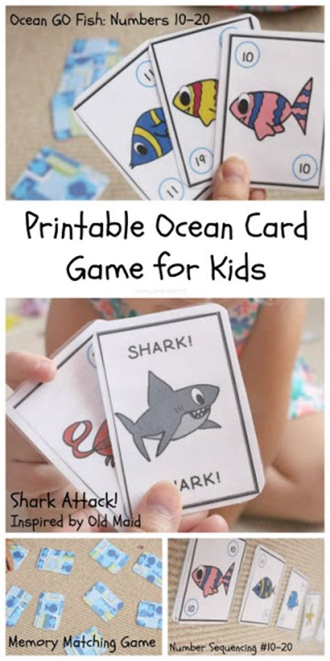 printable go fish card games numbers 10 20 go fish printable card game 3 more ways to