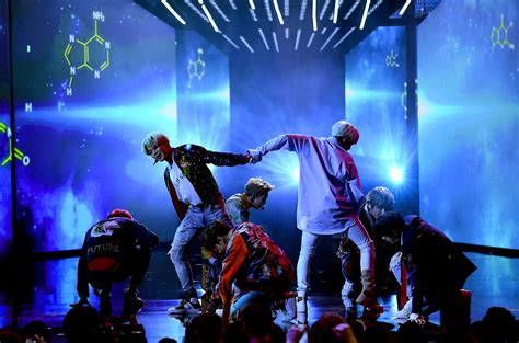 bts on ama bts at the 2017 amas the overwhelming fan response you