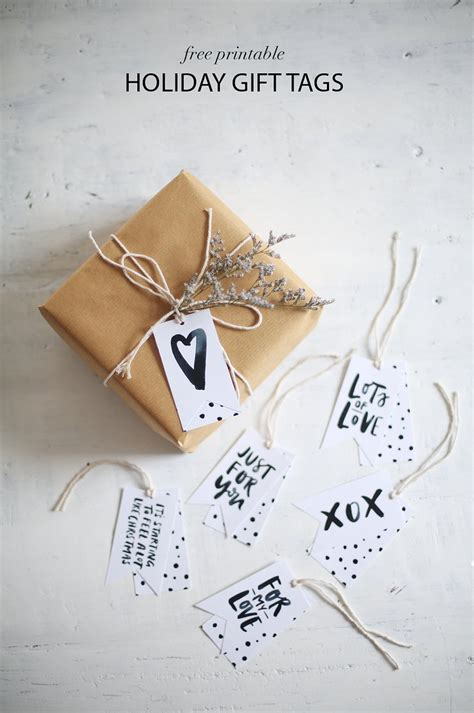 printable gift tags diy diy printable gift tags they re free a pair a spare