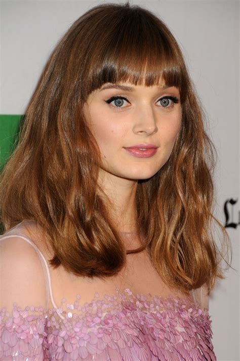 hi light fringe hairstyles how to bella heathcote bangs fringe light brown hair people i
