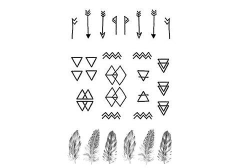Tattoo Geometric Symbols | geometric tattoo images designs